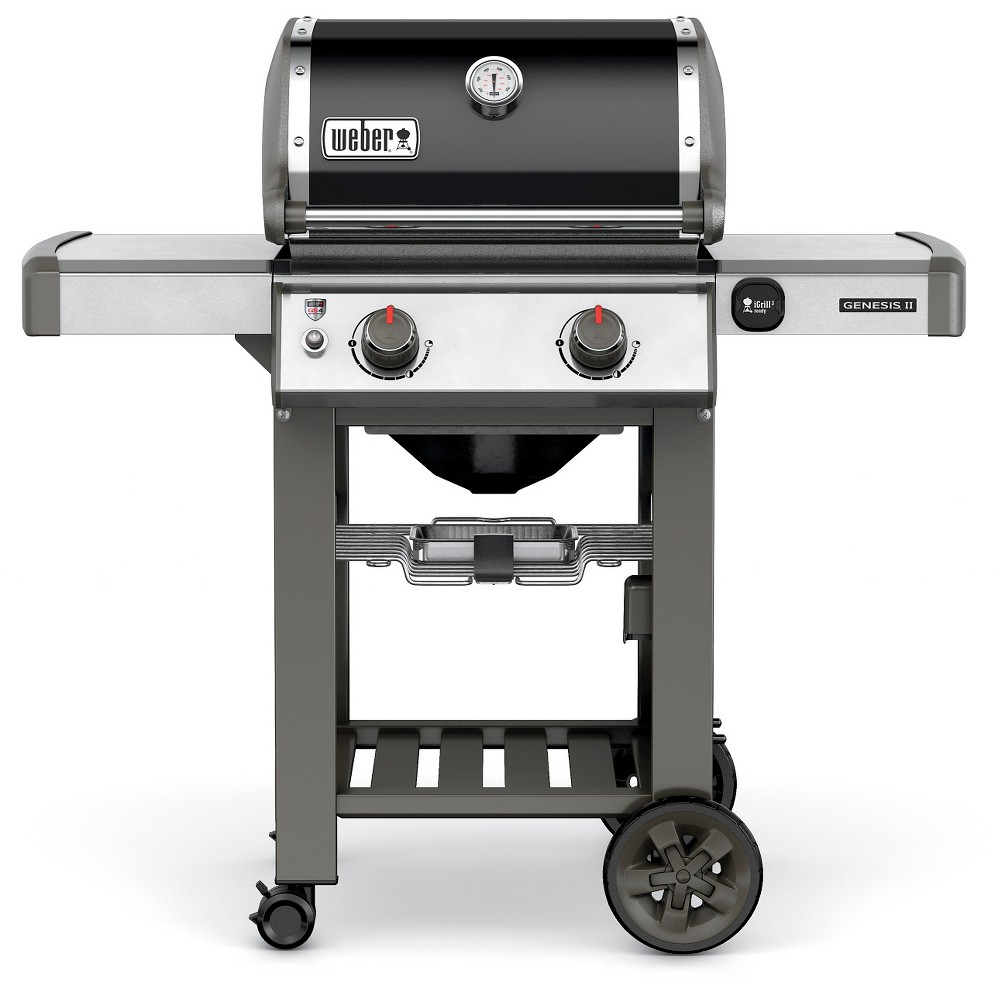 Weber Genesis II E-210 65010001 2-Burner Natural Gas Grill Black 51852098