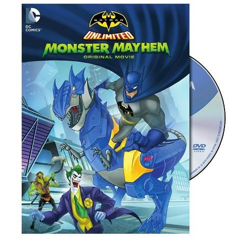 Batman Unlimited: Monster Mayhem (dvd_video) - image 1 of 1