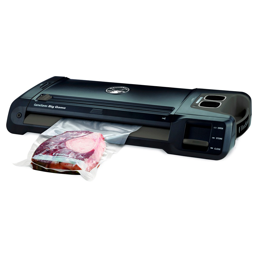 FoodSaver GameSaver Big Game Vacuum Sealer, Black 50484578
