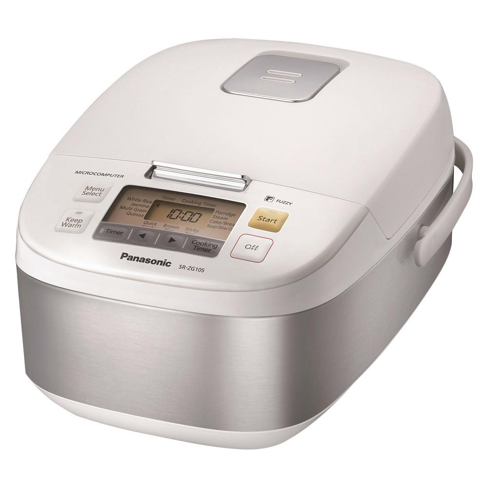Panasonic 5 Cup Microcomputer Controller Multi-Cooker, White