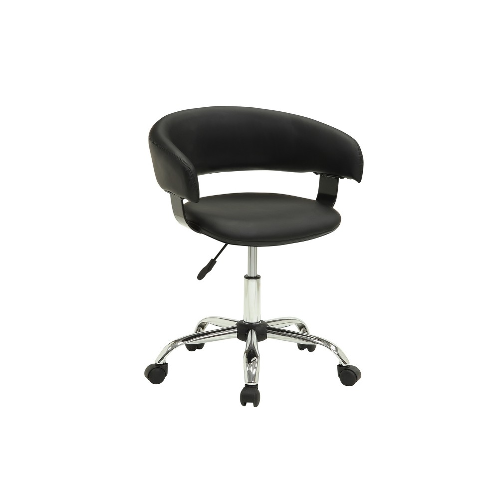 Reed Gas Lift Desk Chair Black - Powell Company