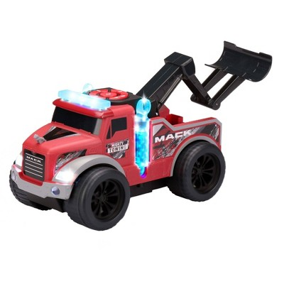 Kid Galaxy Mack Motorized Lights and Sound Tow Truck