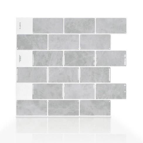 Smart Tiles Subway Fondi Tile Wallpaper Target
