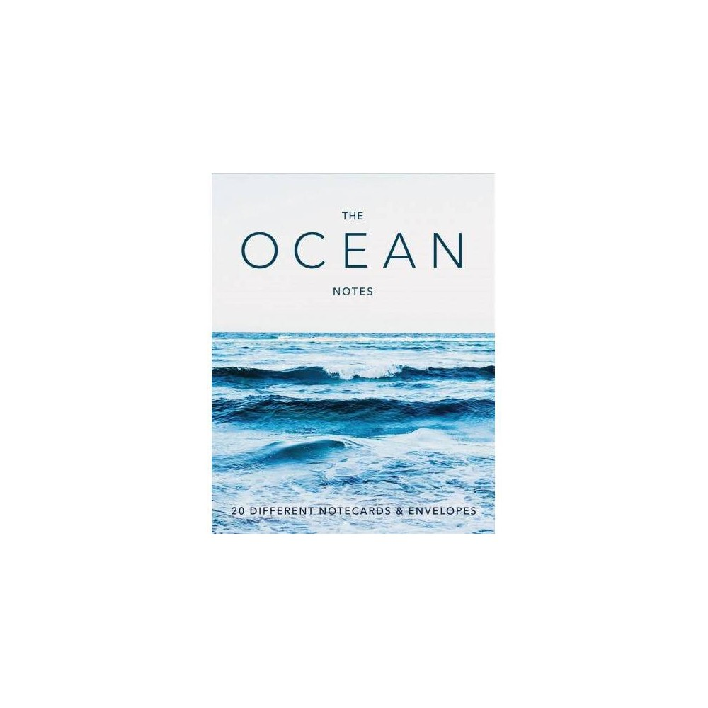 Ocean Notes : 20 Different Notecards & Envelopes - (Stationery)