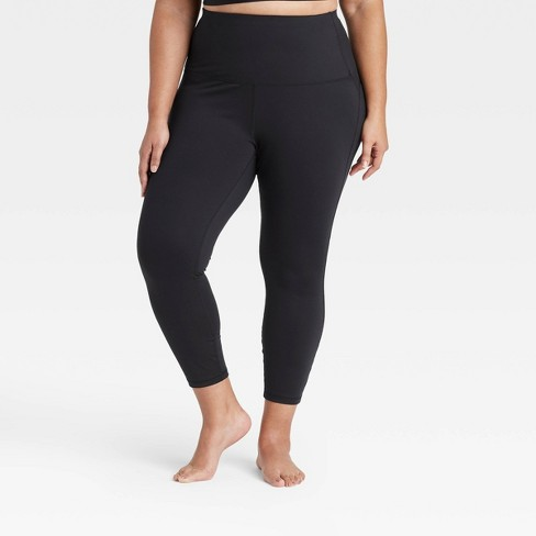 """Women's  Contour Curvy High-Waisted Leggings with Power Waist 24"""" - All in Motion™ - image 1 of 2"""