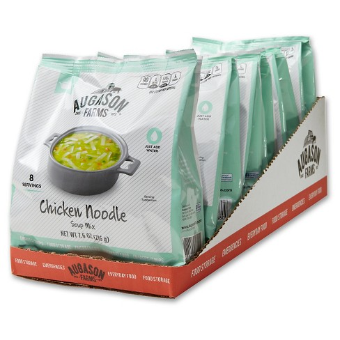 Augason Farms Chicken Noodle Soup Mix - 6ct - image 1 of 5