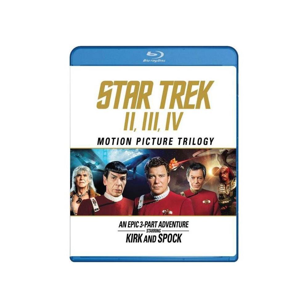 Star Trek Ii Star Trek Iii Star Trek Iv Blu Ray 2016