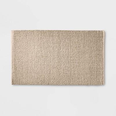 """21""""x34"""" Textured Bath Mat Sand - Casaluna™"""