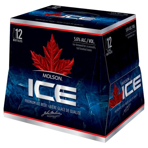 Molson® Ice Beer - 12pk / 12oz Bottles - image 1 of 1