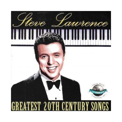 Steve Lawrence - Greatest 20th Century Songs (CD) - image 1 of 1