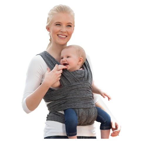 Boppy ComfyFit Hybrid Baby Carrier - Heathered Gray - image 1 of 4