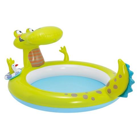Intex Inflatable Gator Spray Pool - image 1 of 2