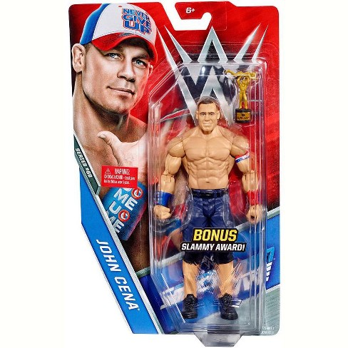 WWE Wrestling Series 69 John Cena Action Figure [Bonus Slammy Award] - image 1 of 2