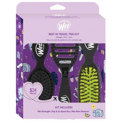 Wet Brush Best in Travel Trio Kit - Black