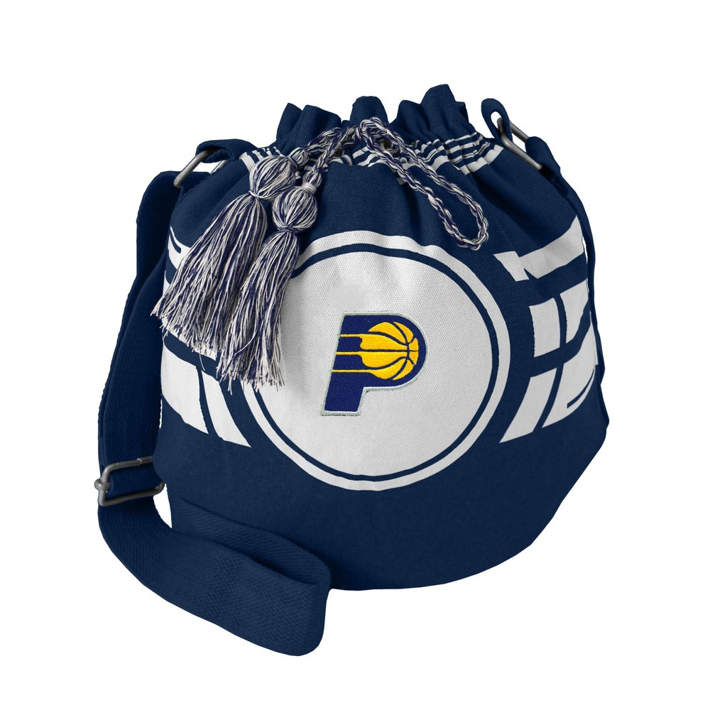 NBA Indiana Pacers Ripple Drawstring Bucket Bag, Adult Unisex