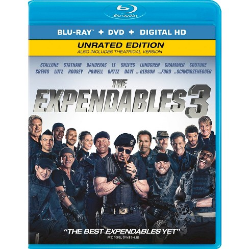 The Expendables 3 (2 Discs) (Ultraviolet) (Includes Digital Copy) (Blu-ray/DVD) - image 1 of 1