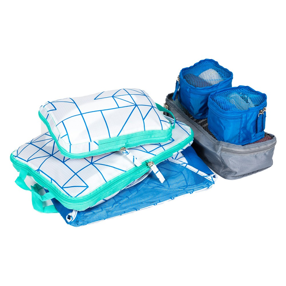 Image of 6pc Value Packing Set, Size: Small, MultiColored
