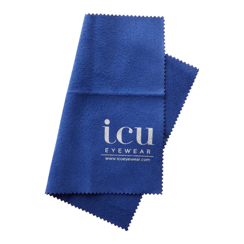 Icu Eyewear Cleaning Cloth Navy