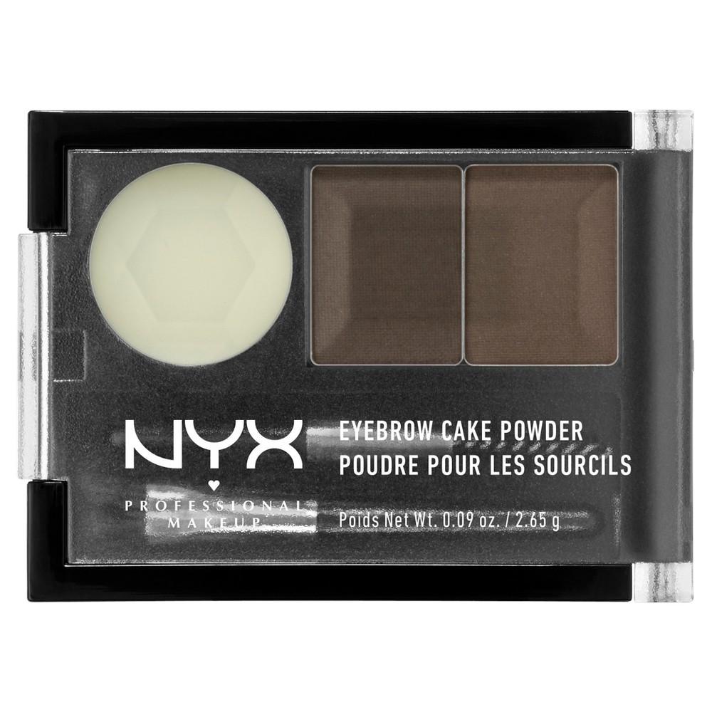 Nyx Professional Makeup Eyebrow Cake Powder Brown - 0.09oz