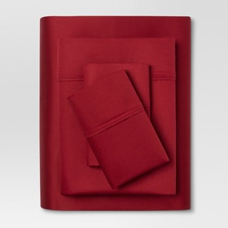 Performance Sheet Set (Full) Red 400 Thread Count - Threshold™