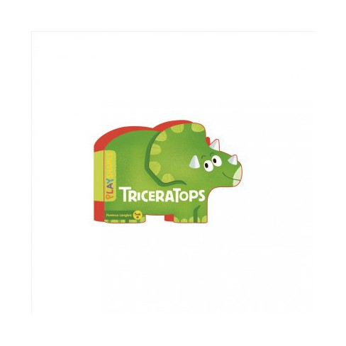 Playshapes: Triceratops - (Board_book) - image 1 of 1