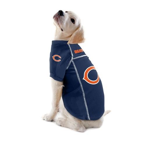 7f829309f Chicago Bears Little Earth Pet Football Jersey - Navy L   Target