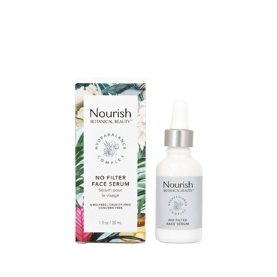 Nourish Organic No Filter Face Serum - 1 fl oz