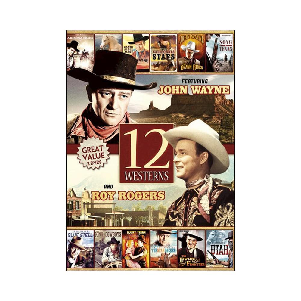 12 Movie Westerns (Dvd), Movies