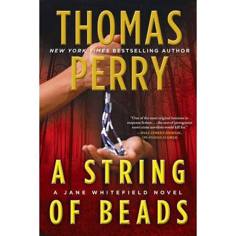 A String of Beads - (Jane Whitefield) by  Thomas Perry (Hardcover) - image 1 of 1