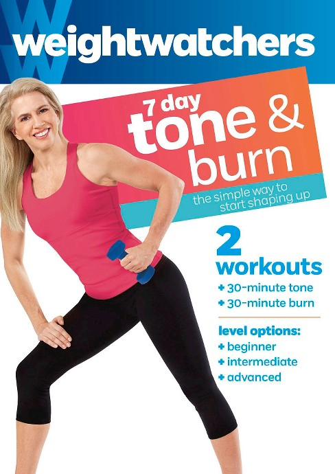 Weight watchers:7 day tone & burn (DVD) - image 1 of 1