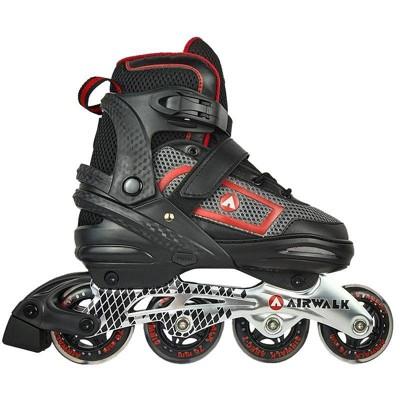 Airwalk Adult Inline Skate - Red (6-7.5)