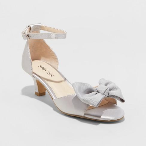 Sandals Steviesshootingstar Girls' Ankle Dressy Gray Strap bf6y7g
