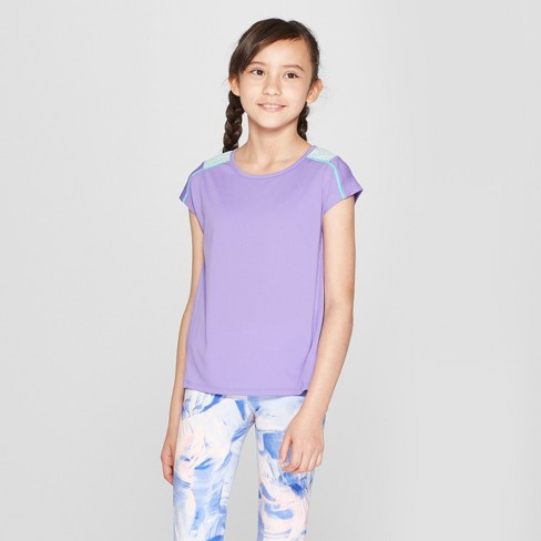 d68eae2c1652 Girls  Novelty Performance T-Shirt - C9 Champion® Hot Purple XS   Target