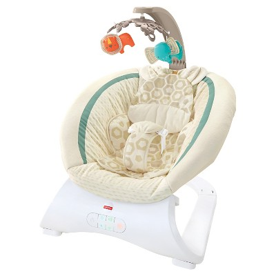Fisher-Price Deluxe Giraffe Bouncer - Soothing Savanna