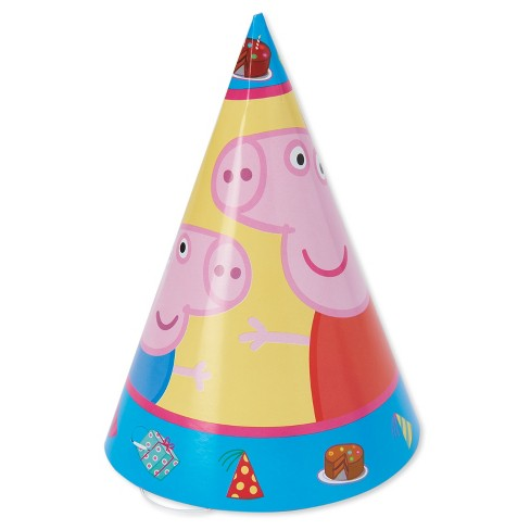 8ct Peppa Pig Party Hat Target