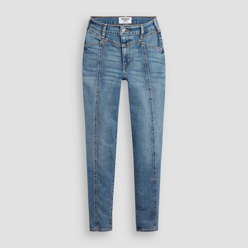 Denizen 174 From Levi 39 S 174 Women 39 S High Rise Tapered Mom Jeans Juniors 39 Medium Blue 0