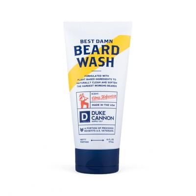 Duke Cannon Supply Company Best Damn Beard Wash - 6 fl oz