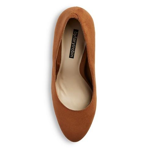 9230b1bedb87 Women s by Farylrobin Stella Block Heel Almond Toe Pumps - Tobacco 9. Shop  all by Farylrobin