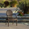 Adriana Wicker Dining Chair - Brown - Christopher Knight Home - image 2 of 4