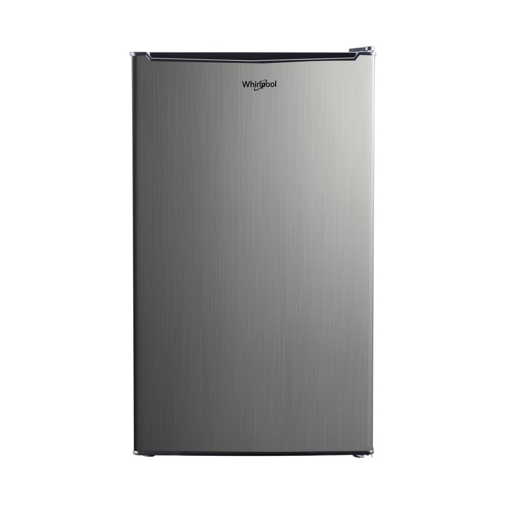 Image of Whirlpool 3.5 cu. ft Mini Refrigerator - Stainless Steel