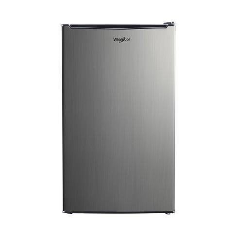 Whirlpool 3.5 cu. ft Mini Refrigerator - Stainless Steel - image 1 of 4