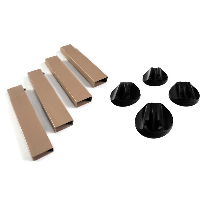 Disc-O-Bed 7 Inch Leg Extensions for Disc-O-Bed & Camo-O-Bunk Cots w/ Foot Pads - image 1 of 6