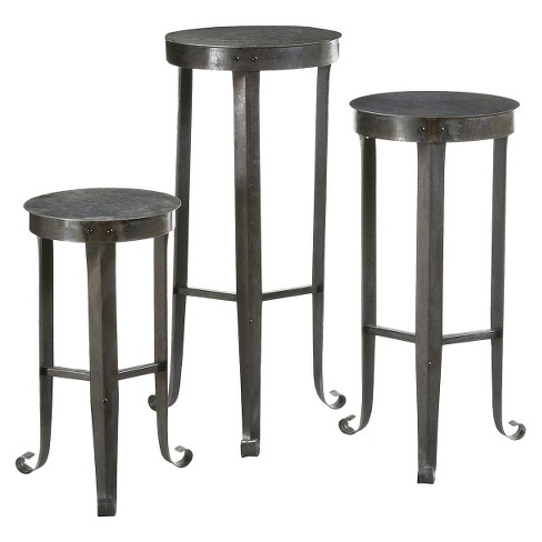 Metal Plant Stand Set - Brown - image 1 of 1