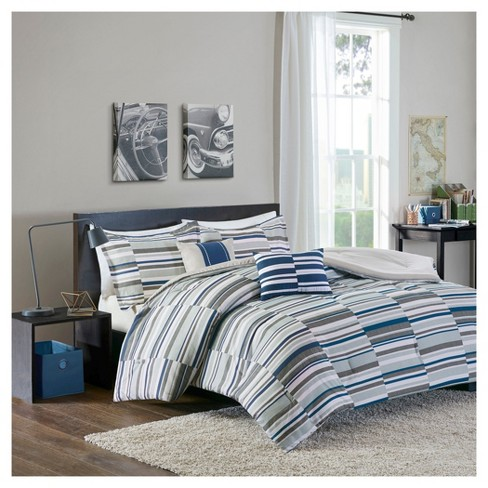 Patrick Striped Comforter Set - image 1 of 6
