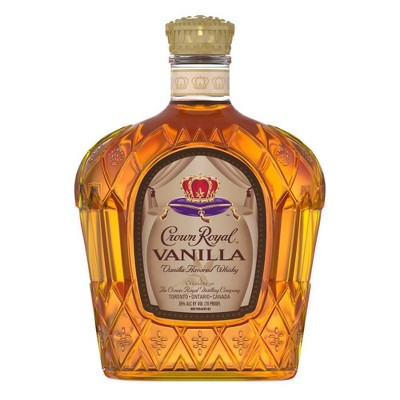 Crown Royal Vanilla Flavored Whisky - 750ml Bottle