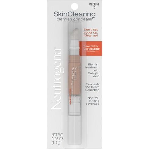Neutrogena Skin Clearing Blemish Concealer with Salicylic Acid - 0.05oz - image 1 of 4