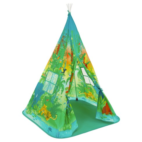 Fun2Give Pop-it-up Teepee Jungle Play Tent - image 1 of 3