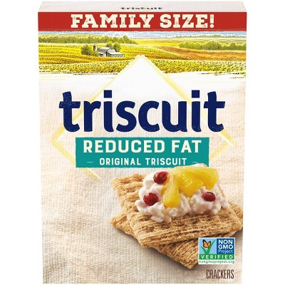 Triscuit Reduced Fat Crackers - Family Size - 11.5oz