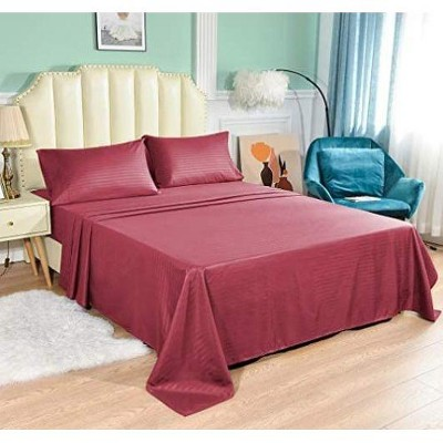 Jacler Bed Sheet Set 1800 Thread Count With Deep Pockets
