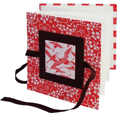 Arnold Grummer Square Zig-Zag Book, 4-1/2 x 4-1/2 Inches, pk of 12